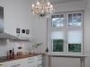 Plisy na oknie w kuchni