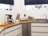 Nowoczesne plisy w kuchni